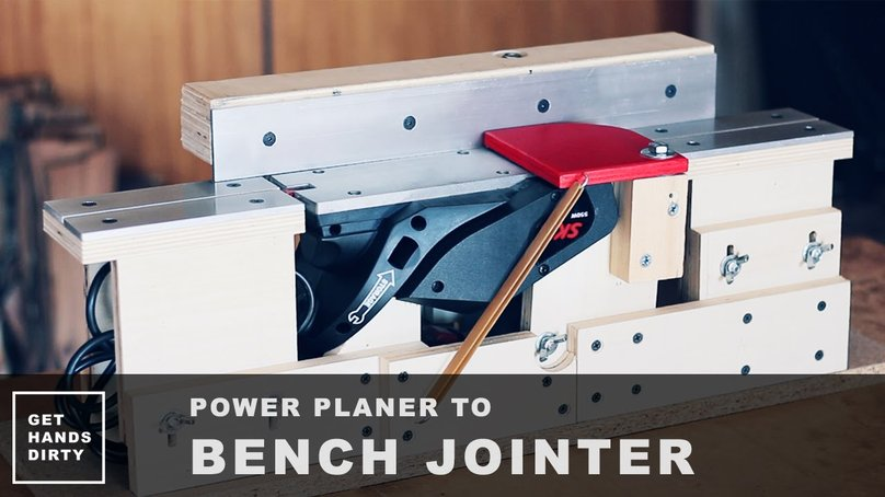 Bench jointer out of a bench jointer