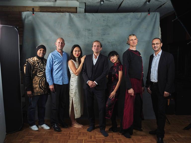 World Musicians Orchester der Kulturen, Kandara Diebate, Andreas Kerber, Lucy Zhao, Chiao-Hua Chang