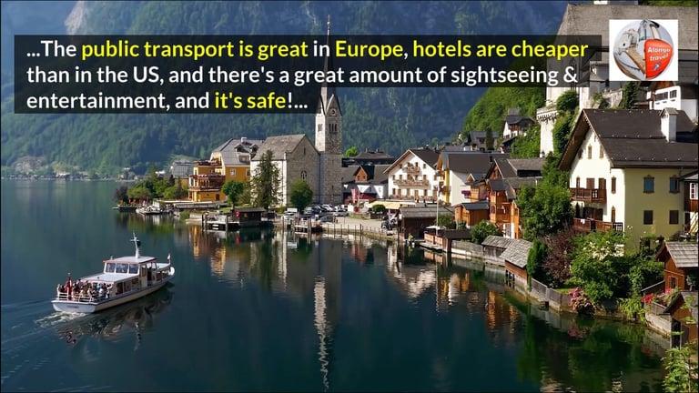 European Destinations: Tips, Deals, and recommendations.